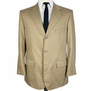Brooks Brothers 346 Stretch Sport Coat 41R Beige
